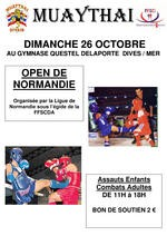 Open de Normandie MT Affiche